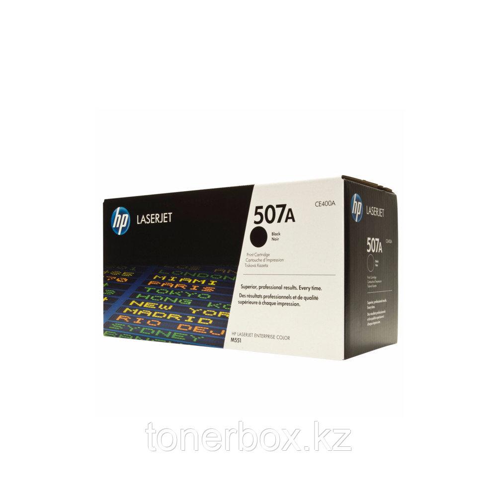 Лазерный картридж HP 507A Черный CE400A