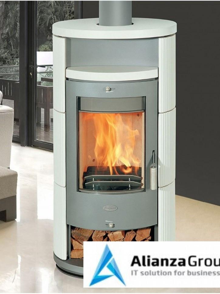 Печь-камин Fireplace Alicante K поворотная