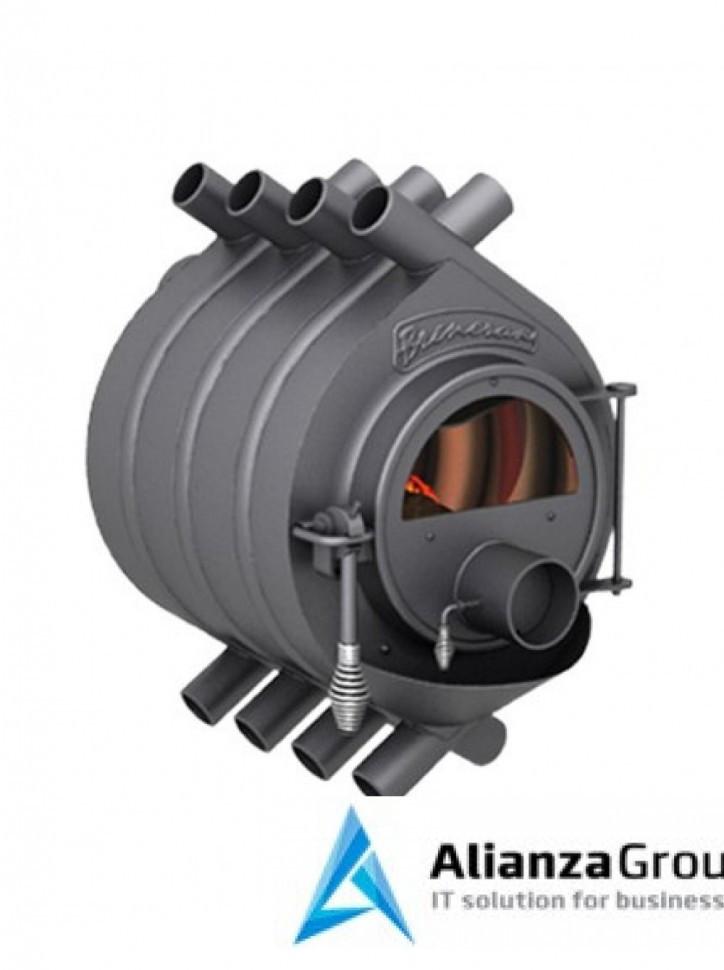Отопительная газогенераторная печь Бренеран АОТ-06 тип 00 до 100м3 со стеклом