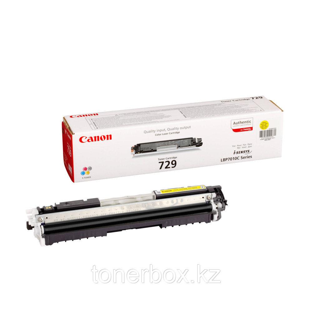Лазерный картридж Canon 729 Желтый 4367B002