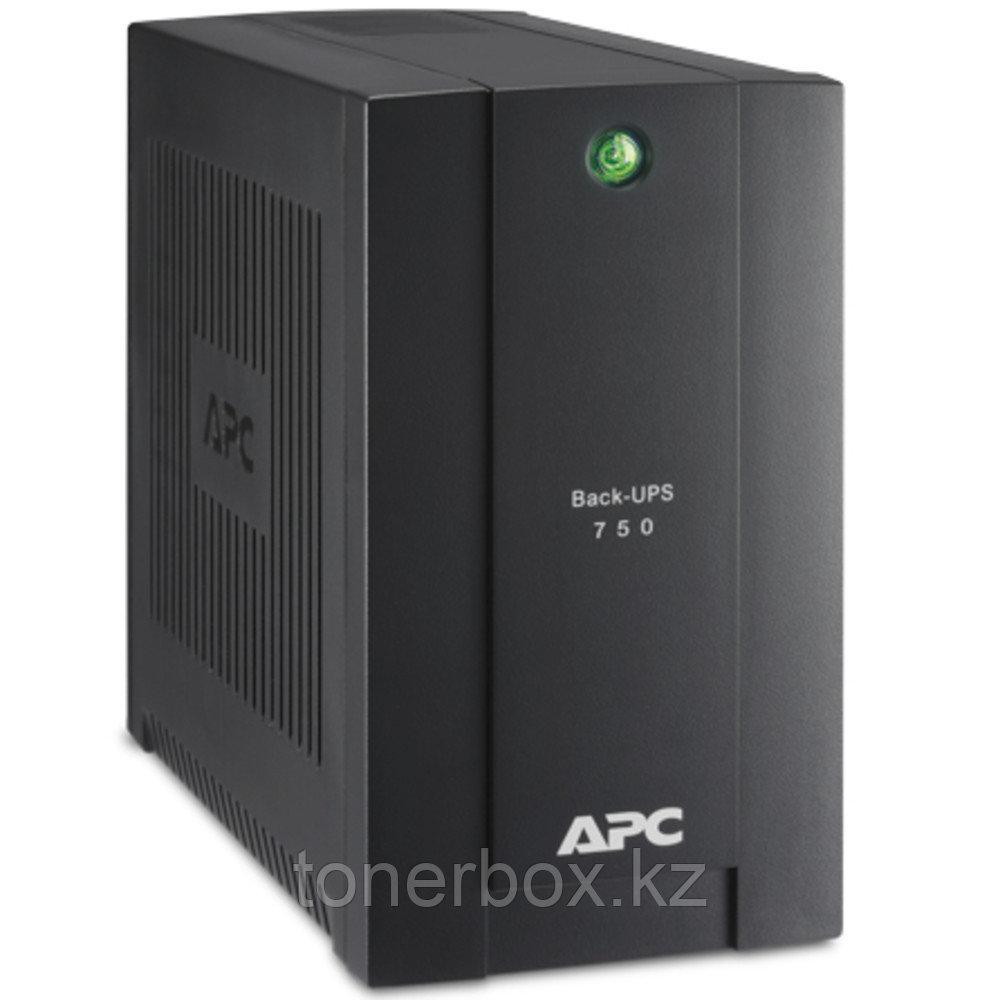 Источник бесперебойного питания APC Back-UPS 750 Schuko BC750-RS (Линейно-интерактивные, Напольный, 750 ВА, 415 Вт)