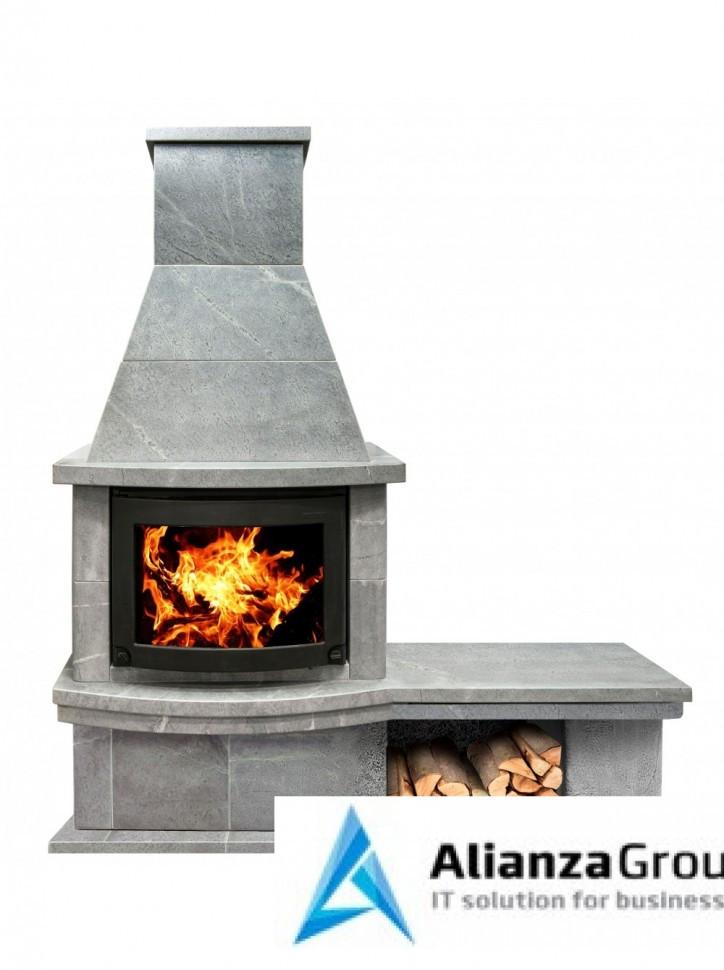 Камин Теплый Камень Скандинавия FS7-1Б