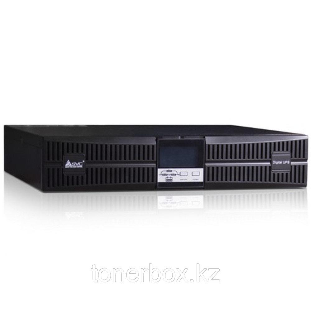 Источник бесперебойного питания SVC RT-1K-LCD (Двойное преобразование (On-Line), C возможностью установки в