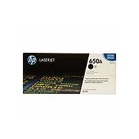 Лазерный картридж HP 650A Черный CE270A