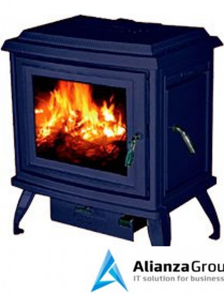 Отопительная печь Cashin C2-02 синий, эмаль