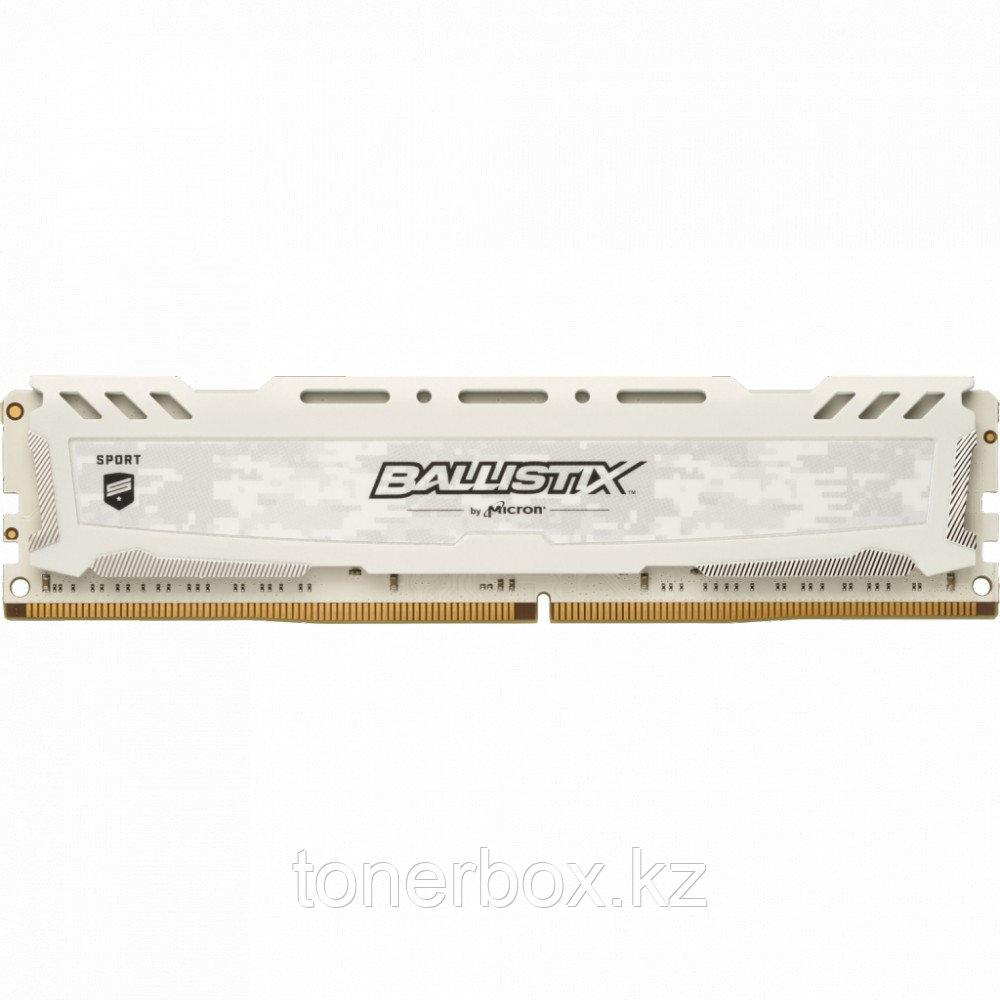 ОЗУ Crucial Ballistix Sport LT White BLS16G4D32AESC (16 Гб, UDIMM, 3200 МГц)