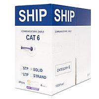 Кабель витая пара SHIP Кабель сетевой, SHIP, D165A-L, Cat.6,  LSZH, 305 м/б