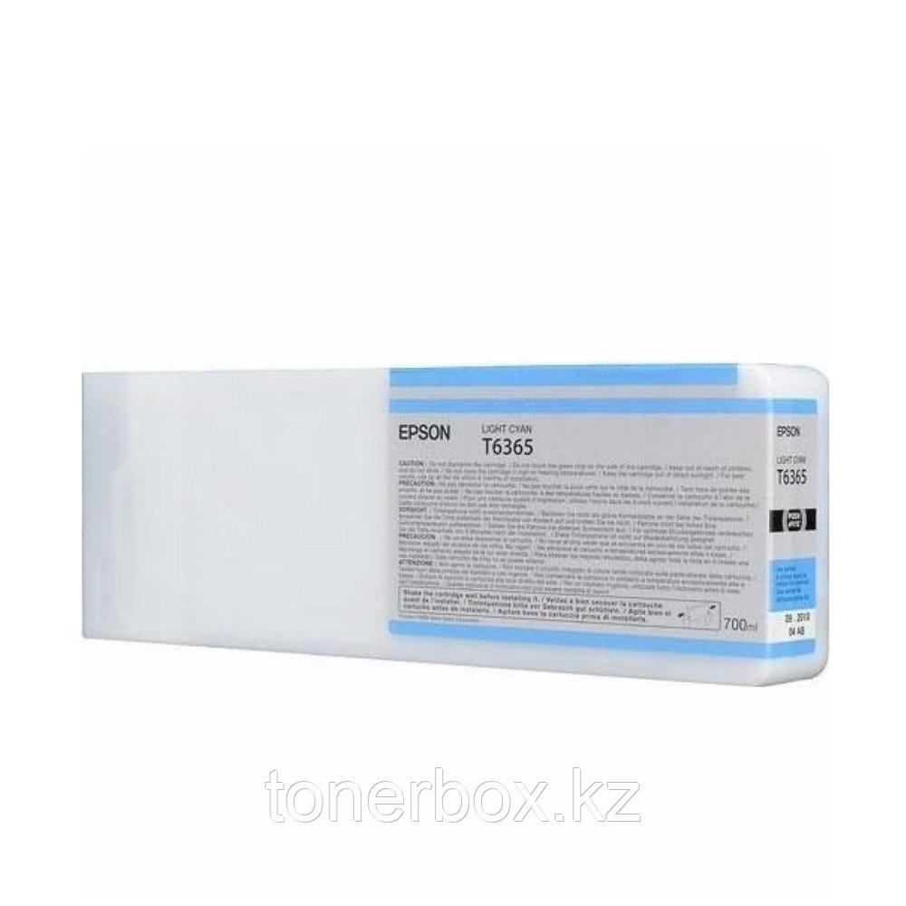 Струйный картридж Epson T6365 Светло-голубой C13T636500