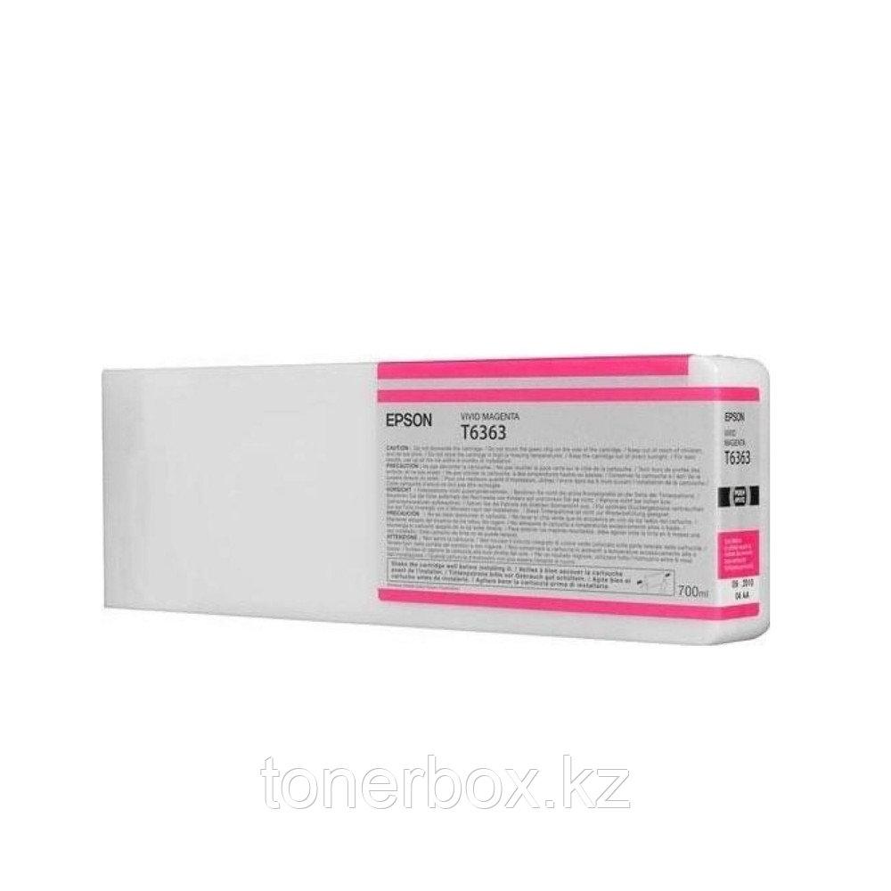 Струйный картридж Epson T6363 Пурпурный C13T636300