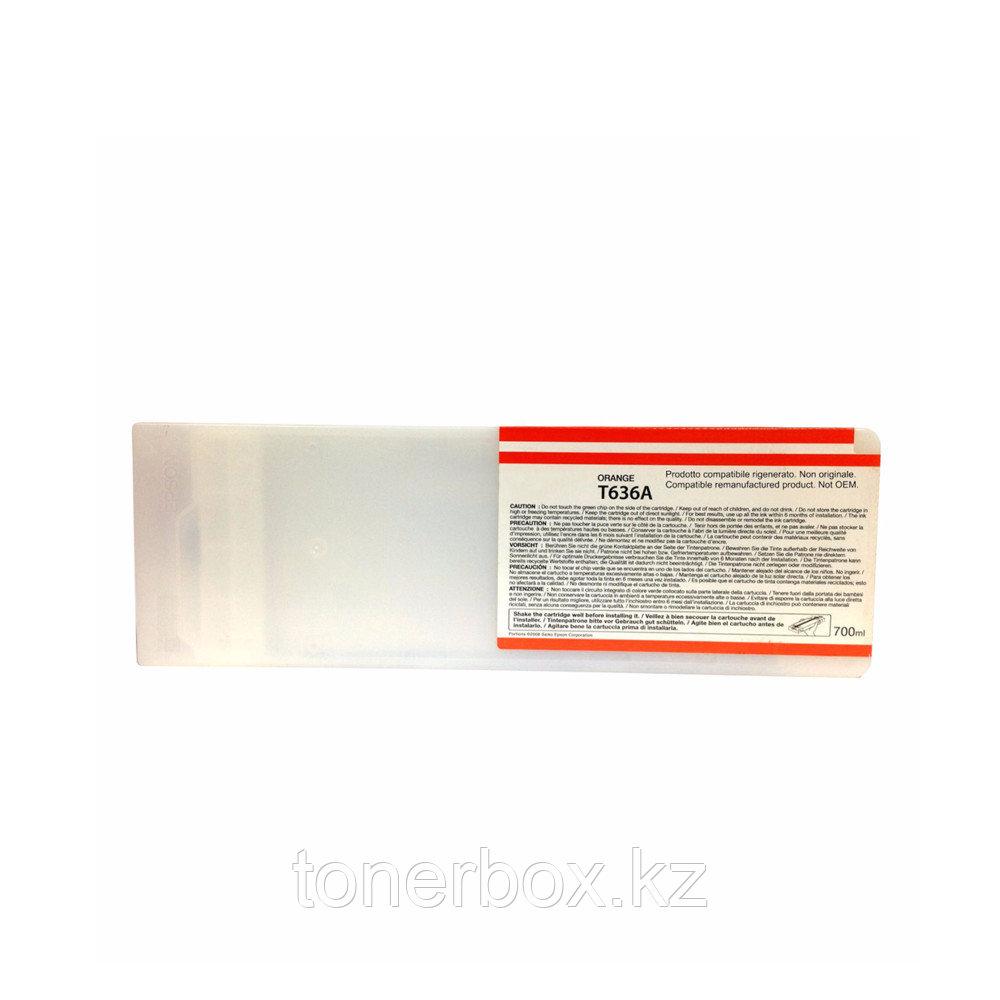Струйный картридж Epson T636A Оранжевый 700 мл C13T636A00