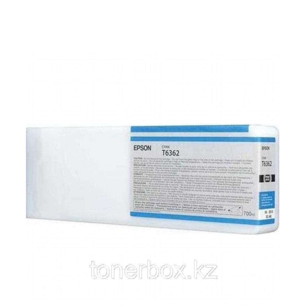 Струйный картридж Epson T6362 Голубой C13T636200