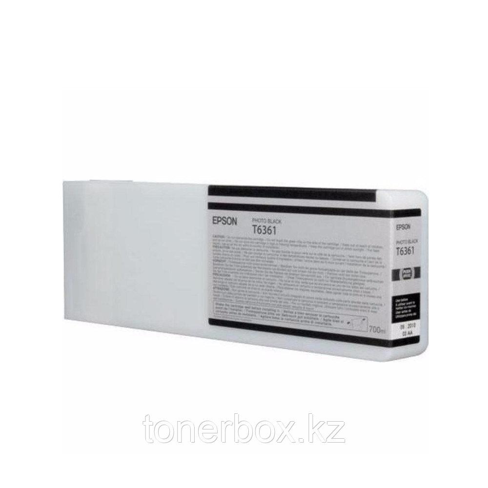 Струйный картридж Epson T6368 Черный C13T636800