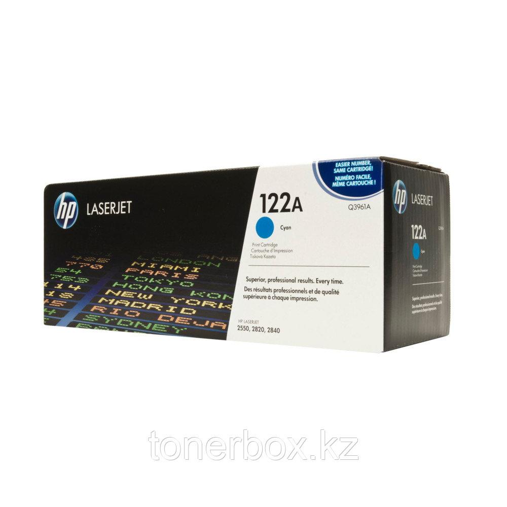 Лазерный картридж HP 122A Голубой Q3961A