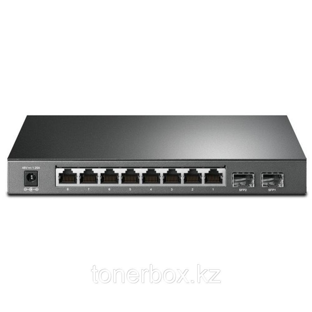 Коммутатор TP-Link T1500G-10PS (1000 Base-TX (1000 мбит/с), 2 SFP порта)