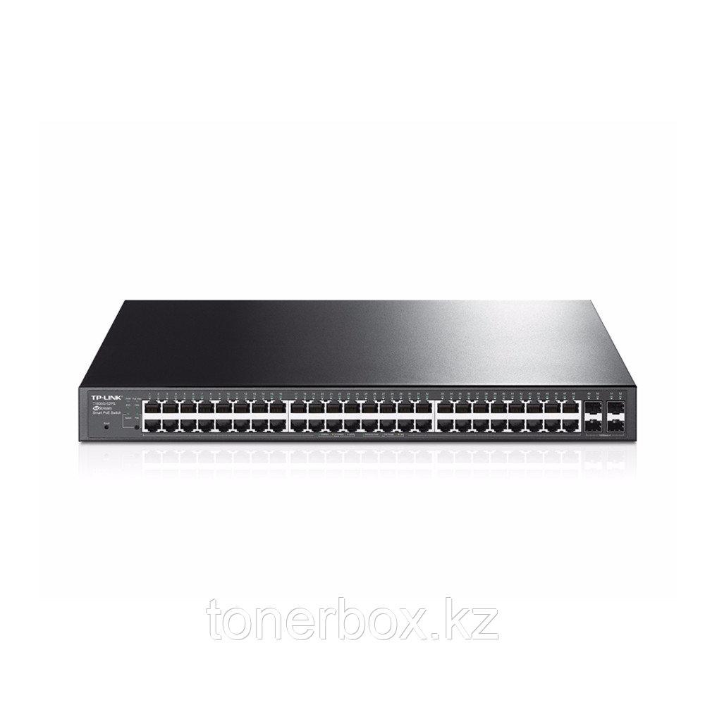 Коммутатор TP-Link T1600G-52PS (TL-SG2452P) (1000 Base-TX (1000 мбит/с), 4 SFP порта)