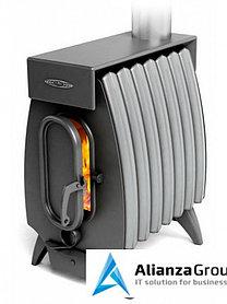 Отопительная печь Термофор Огонь-батарея 7 ЛАЙТ антрацит-серый металлик