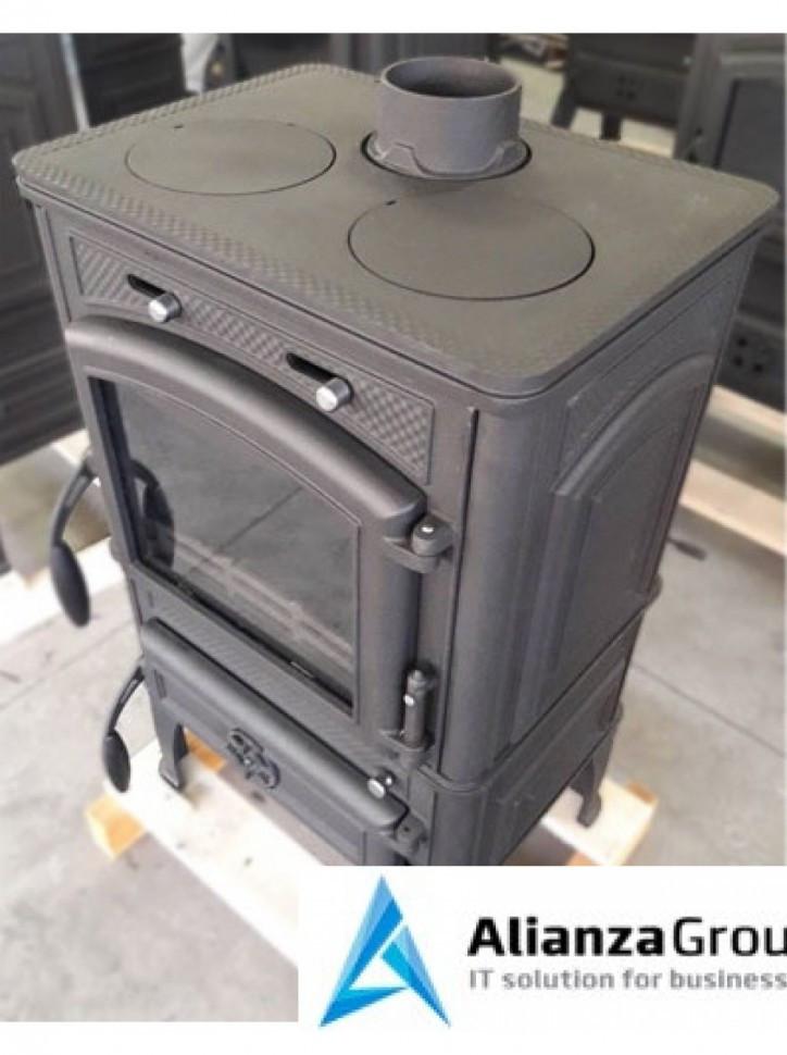 Печь-камин Гуча Лава Премиум (Guca Lava Premium)