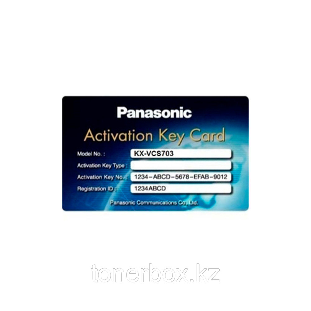 Лицензия Panasonic KX-VCS781