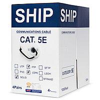 Кабель витая пара SHIP Кабель сетевой, SHIP, D147-P, Cat.5e,  305 м/б