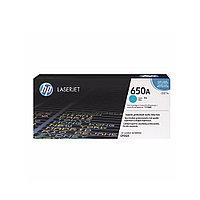 Лазерный картридж HP 650A Голубой CE271A