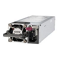 Серверный блок питания HPE Hot Plug Redundant Power Supply 500W 865408-B21 (1U, 500 Вт)