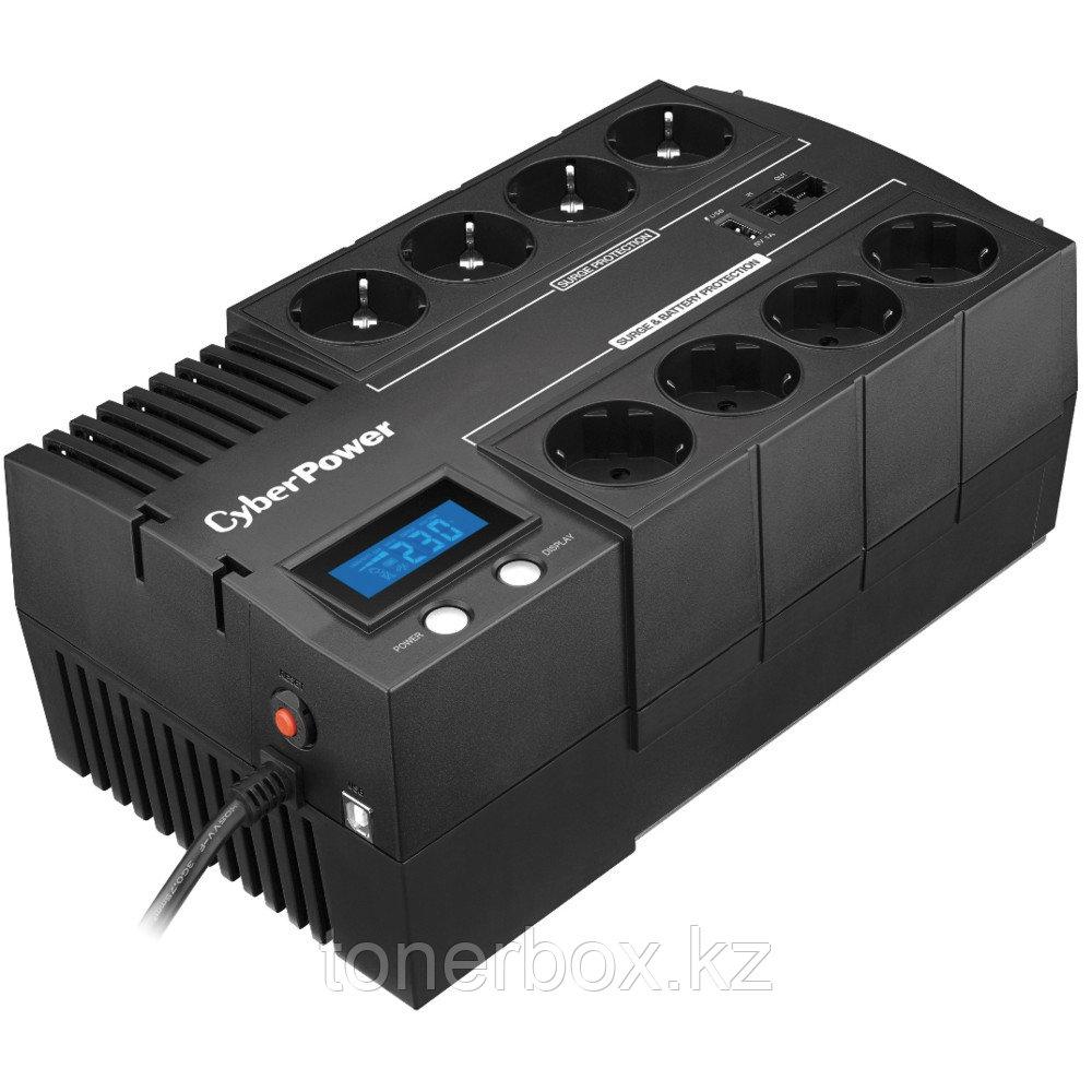 Источник бесперебойного питания CyberPower BR1000ELCD (Линейно-интерактивные, Напольный, 1000 ВА, 600 Вт)