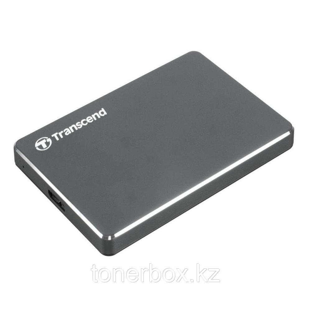 Внешний жесткий диск Transcend StoreJet 2 ТБ TS2TSJ25C3N (2 Тб)