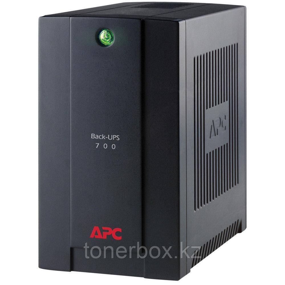 Источник бесперебойного питания APC Back-UPS 700 BX700UI (Линейно-интерактивные, Напольный, 700 ВА, 390 Вт)