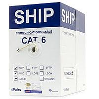 Кабель витая пара SHIP Кабель сетевой, SHIP, D165S-P, Cat.6, 305 м/б