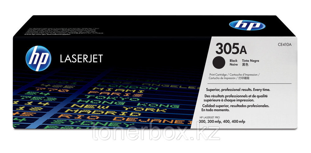 Лазерный картридж HP 305A Черный CE410A