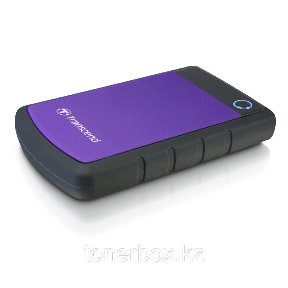 """Внешний жесткий диск Transcend внешний жёсткий 2TB USB 3.0 2.5"""" TS2TSJ25H3P (2 Тб)"""