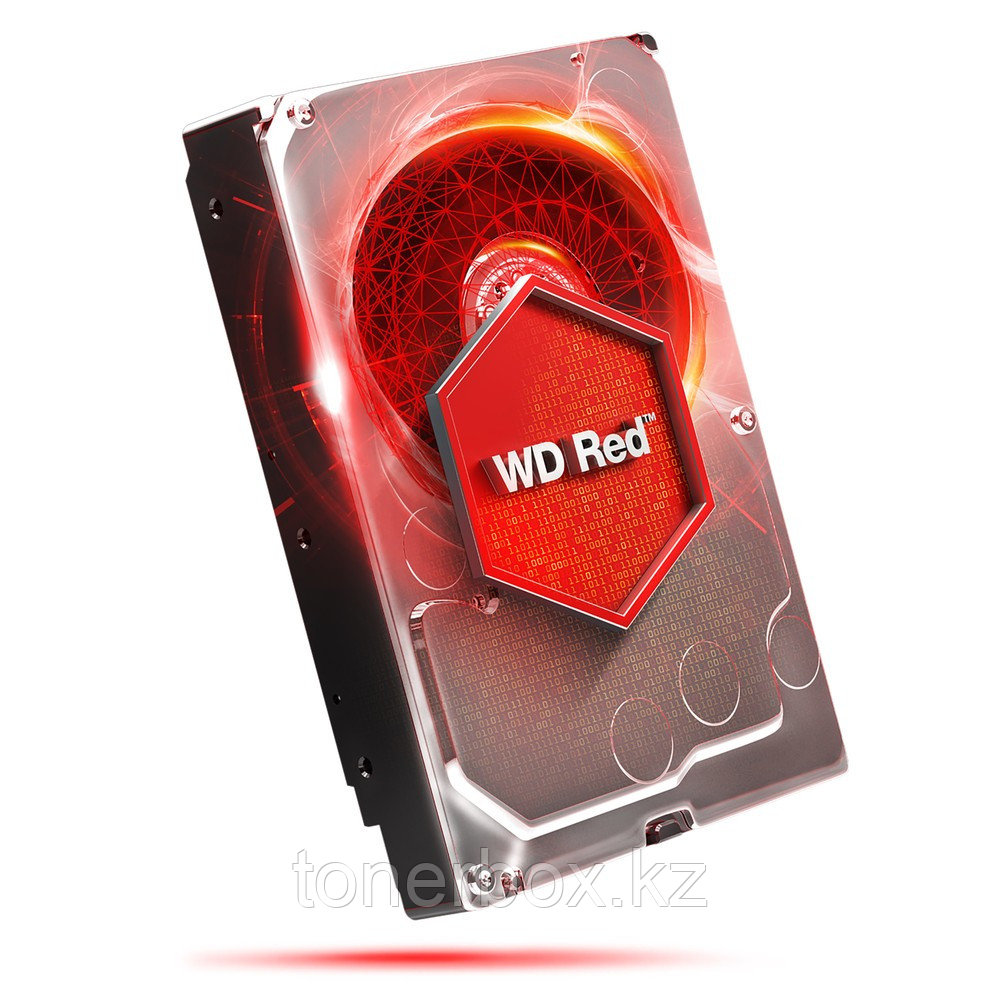 "Внутренний жесткий диск Western Digital RED 4TB SATA 3.5"" 5400RPM 64Mb WD40EFRX (4 Тб, 3.5 дюйма, SATA, HDD (классические))"