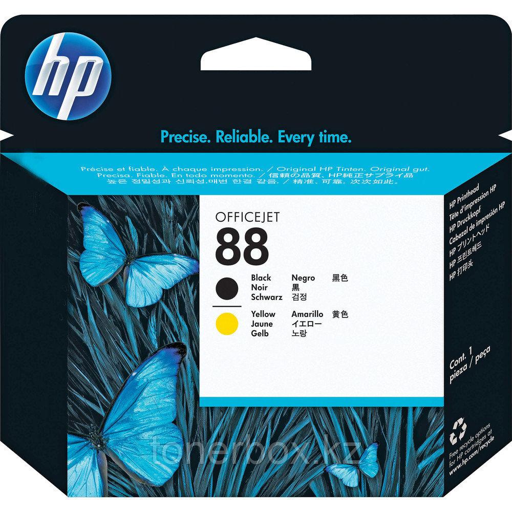 Струйный картридж HP №88, Черный, Желтый C9381A