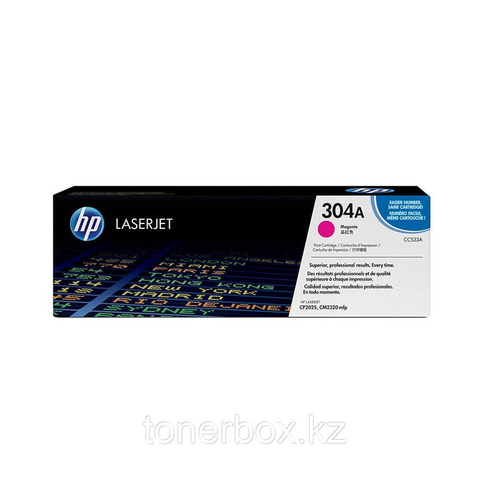 Лазерный картридж HP 304A Пурпурный CC533A