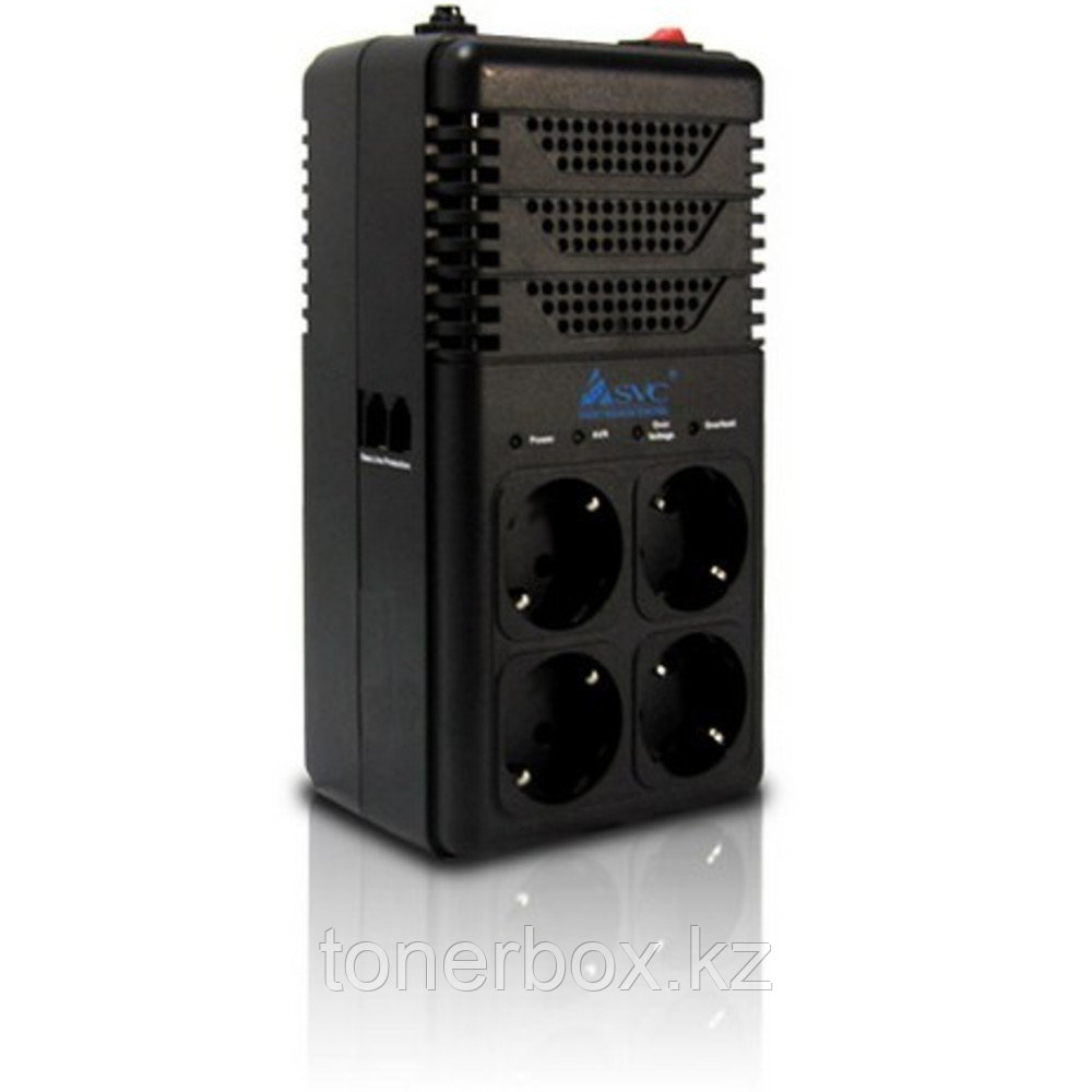 Стабилизатор SVC Стабилизатор AVR-1008-G (800ВА/480Вт) (50Гц)
