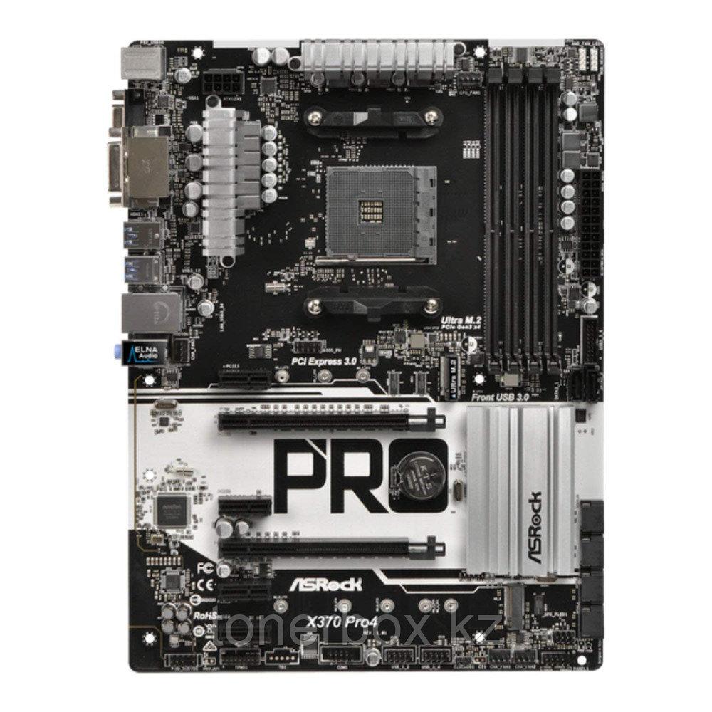 Материнская плата ASRock X370 PRO4 (ATX, AMD AM4)