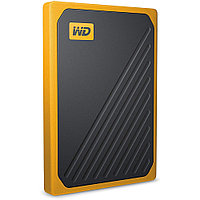 Внешний жесткий диск Western Digital My Passport Go Portable Amber WDBMCG5000AYT-WESN (500 Гб), фото 1