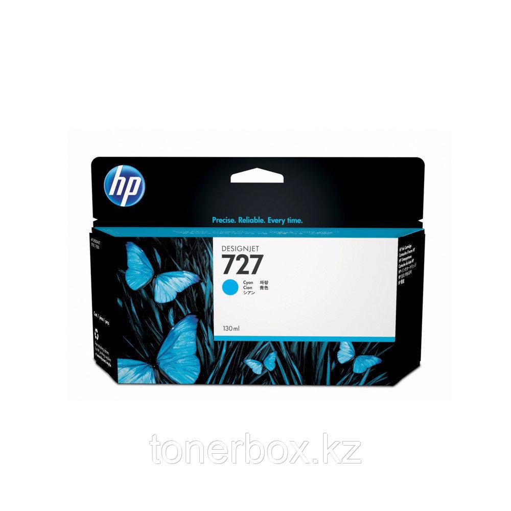 Струйный картридж HP №727 DesignJet, 130 мл, Голубой B3P19A