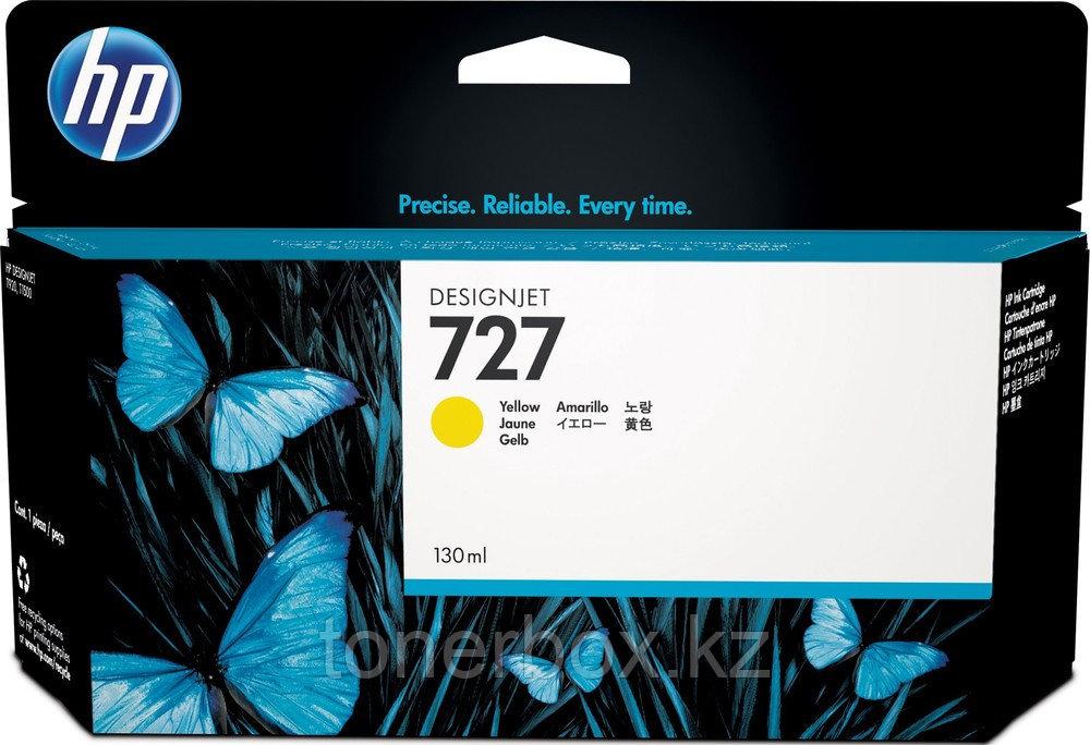 Струйный картридж HP №727 DesignJet, 130 мл, Желтый B3P21A