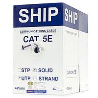 Кабель витая пара SHIP Кабель сетевой, SHIP, D108, Cat.5e, UTP, 305 м/б