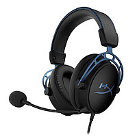 Гарнитура HyperX Cloud Alpha S Black/Blue HX-HSCAS-BL/WW, фото 1