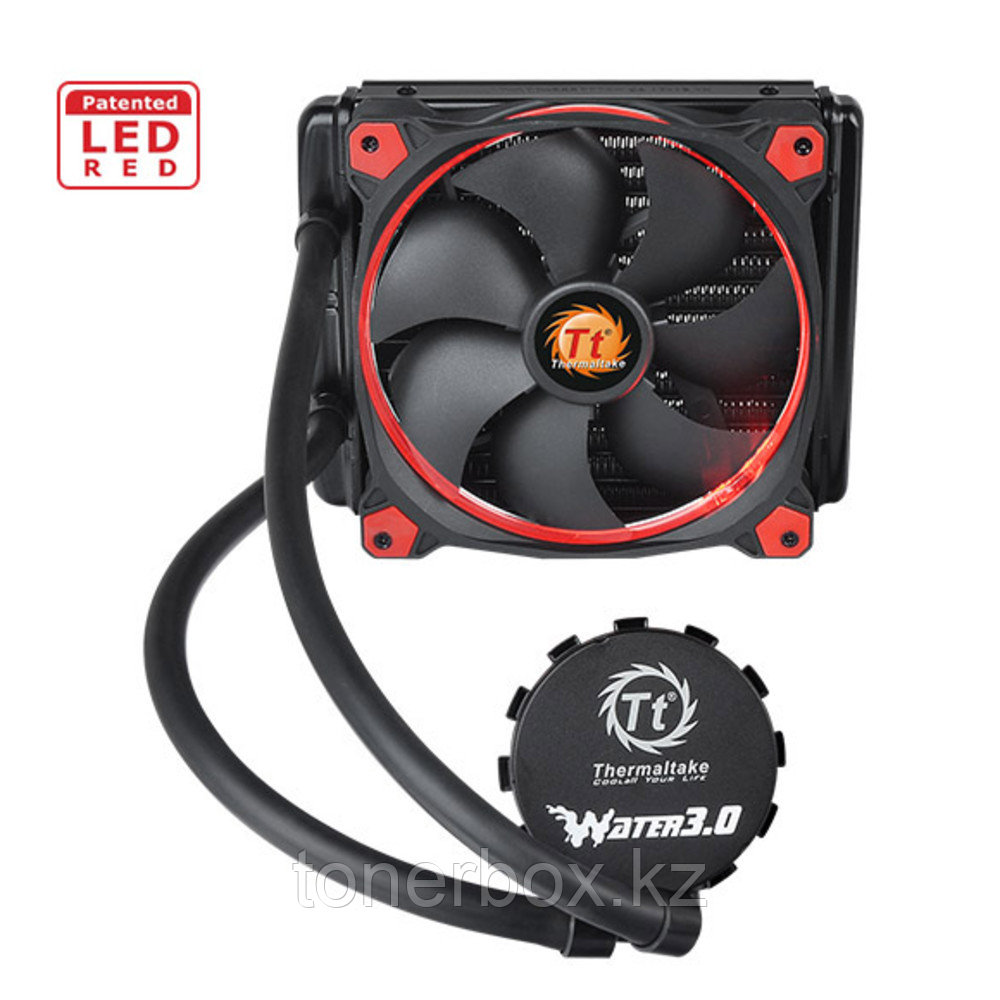 Охлаждение Thermaltake Water 3.0 Riing Red 140 CL-W150-PL14RE-A