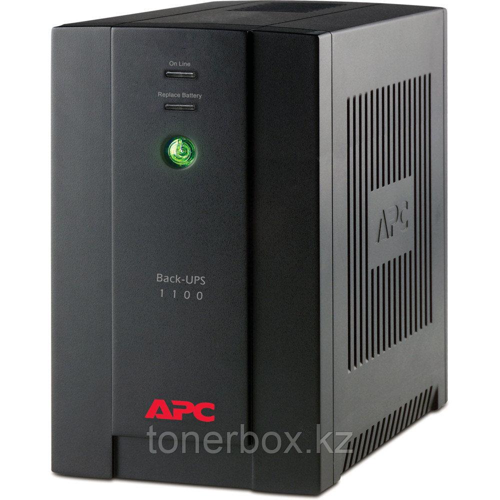 Источник бесперебойного питания APC Back-UPS 1100, IEC BX1100LI (Линейно-интерактивные, Напольный, 1100 ВА, 550 Вт)