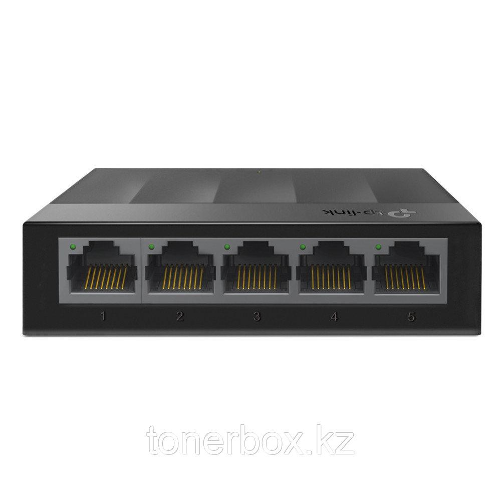 Коммутатор TP-Link LS1005G (1000 Base-TX (1000 мбит/с), Без SFP портов)