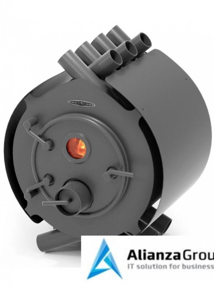 Отопительно-варочная печь Термофор Валериан, 8 кВт, антрацит