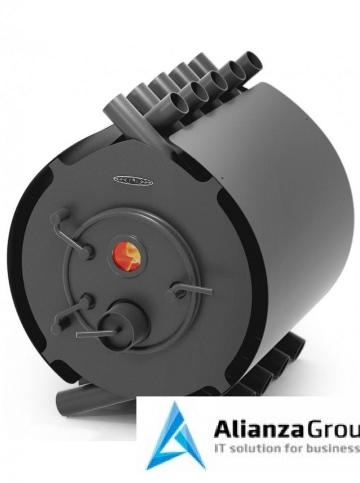 Отопительно-варочная печь Термофор Валериан, 20 кВт, антрацит