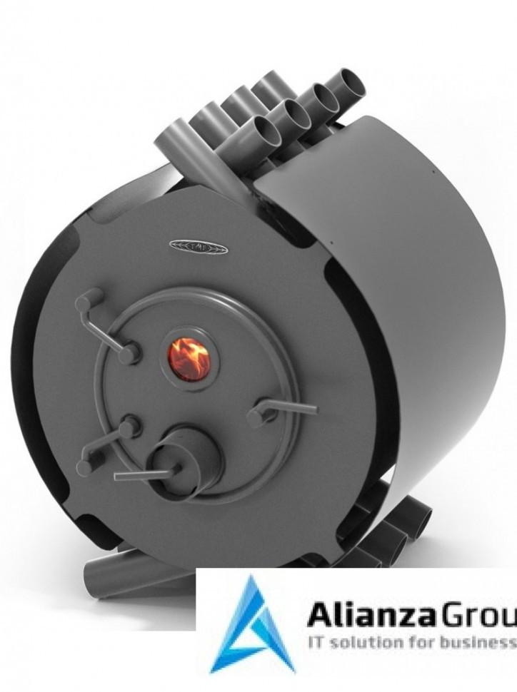 Отопительно-варочная печь Термофор Валериан, 15 кВт, антрацит