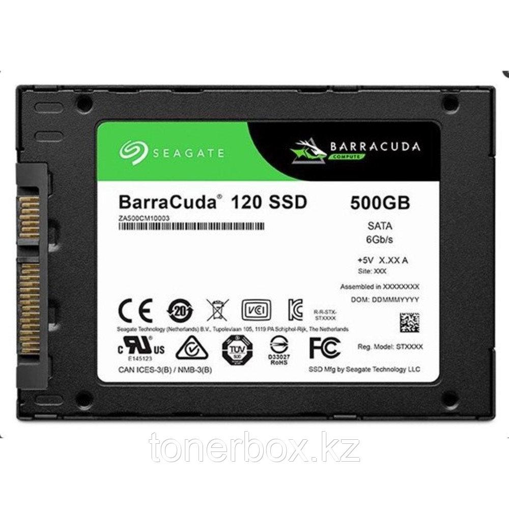 Внутренний жесткий диск Seagate 500 ГБ ZA500CM10003 (500 Гб, 2.5 дюйма, SATA, SSD (твердотельные))