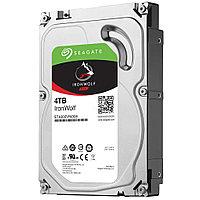 "Внутренний жесткий диск Seagate IronWolf NAS 4TB SATA 3.5"" 5900RPM 64Mb ST4000VN008 (4 Тб, 3.5 дюйма, SATA, HDD (классические))"
