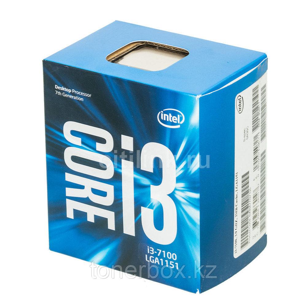 Процессор Intel Core i3 7100 i3-7100 (3.9 Ггц, 2 ядра, 3 Мб)